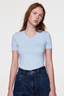 Damen-V-Shirt Classic, Hakro 126 // HA126