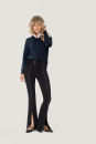 Damen-V-Pullover Premium-Cotton, Hakro 133 // HA133