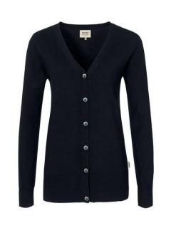 Damen-Cardigan Merino Wool, Hakro 140 // HA140