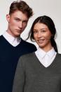 V-Pullover Merino Wool, Hakro 144 // HA144