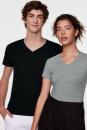 Damen-V-Shirt Stretch, Hakro 172 // HA172