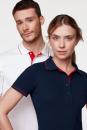 Damen-Poloshirt Casual, Hakro 203 // HA203