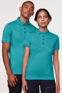 Damen-Poloshirt Cotton-Tec, Hakro 214 // HA214