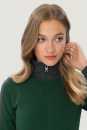 Damen-Sweatjacke Contrast Performance, Hakro 277 // HA277