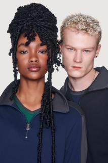 Zip-Sweatshirt Contrast Performance, Hakro 476 // HA476
