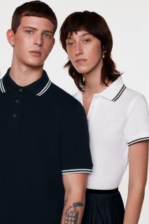 Poloshirt Twin-Stripe, Hakro 805 // HA805