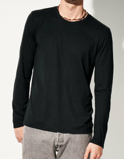 Adult Tri-Blend Long Sleeve Tee, Anvil 6740 // A6740