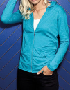 Women`s Tri-Blend Full-Zip Hooded Jacket, Anvil 6759L //...