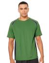 Unisex Colorblock Short Sleeve Tee, All Sport M1004 //...