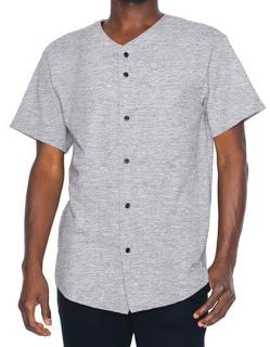 Unisex Thick Knit Baseball Jersey, American Apparel 1403W // AM1403