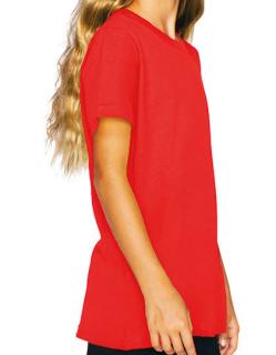 Youth Fine Jersey Short Sleeve T-Shirt, American Apparel 2201W // AM2201