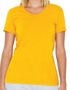 Women`s Poly-Cotton Crew Neck T-Shirt, American Apparel...