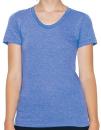 Women`s Tri-Blend Track T-Shirt, American Apparel TR301W...