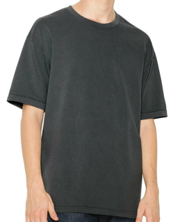 Unisex French Terry Garment Dyed T-Shirt, American Apparel TF402W // AM402