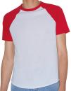 Unisex Poly-Cotton Short Sleeve Raglan T-Shirt, American...