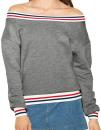 Women`s Heavy Terry Sport Sweatshirt, American Apparel...