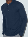 Unisex Baby Thermal Long Sleeve Henley, American Apparel...