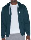 Unisex Flex Fleece Zip Hooded Sweatshirt, American...