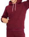 Unisex Mock Twist Pullover Hooded Sweatshirt, American...