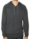 Unisex California Fleece Zip Hooded Sweatshirt, American...