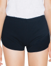 Women`s Interlock Running Shorts, American Apparel 7301W...