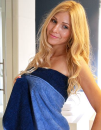 Double-Colour Hand Towel, Bear Dream DB50X100 // BD750