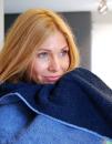 Double-Colour Bath Towel, Bear Dream DB70X140 // BD760