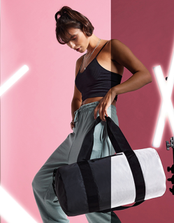 Reflective Barrel Bag, BagBase BG136 // BG136