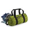 Duo Knit Barrel Bag, BagBase BG196 // BG196