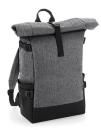 Block Roll-Top Backpack, BagBase BG858 // BG858