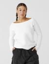 Women`s Sponge Fleece Wide Neck Sweatshirt, Bella 7501 //...