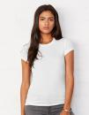 Sheer Rib Crew Neck T-Shirt, Bella 8701 // BL8701