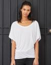 Flowy Draped Sleeve Dolman T-Shirt, Bella 8821 // BL8821