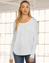 Flowy Long Sleeve T-Shirt, Bella 8852 // BL8852