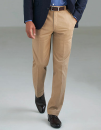 Business Casual Denver Men`s Classic Fit Chino, Brook...