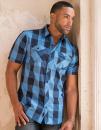 Buffalo Plaid Woven Shirt, Burnside 9203 // BU9203