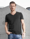 Light T-Shirt V-Neck, Build Your Brand BY006 // BY006
