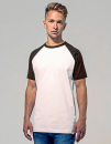 Raglan Contrast Tee, Build Your Brand BY007 // BY007