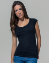 Ladies` Back Cut Tee, Build Your Brand BY035 // BY035