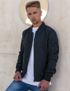 Nylon Bomber Jacket, Build Your Brand BY045 // BY045