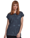 Ladies` Batik Dye Extended Shoulder Tee, Build Your Brand...