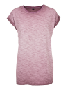 Ladies` Spray Dye Extended Shoulder Tee, Build Your Brand...