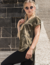 Ladies` Camo  Tee, Build Your Brand BY064 // BY064