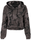 Ladies` Camo Cropped Hoody, Build Your Brand BY065 // BY065