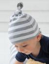 Baby Stripy One Knot Hat, Babybugz BZ15S // BZ15s