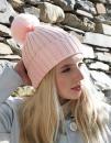 Arosa Fur Pom Pom Beanie, Beechfield B417 // CB417
