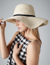 Marbella Wide-Brimmed Sun Hat, Beechfield B740 // CB740