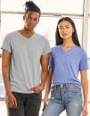Unisex Triblend V-Neck T-Shirt, Canvas 3415 // CV3415