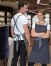 Apron with Grey Ties Crossover, Dennys London DP130 // DL130