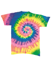 Multi Spiral T-Shirt, Dyenomite 700MS // DY700MS